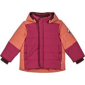 Finkid Koira Husky Winter Jacket Kids persian red/cabernet